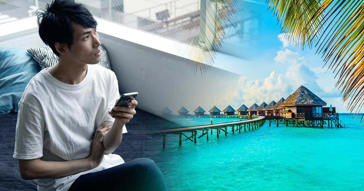 夏休みモルディブ行きたい